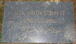 Alta <i>Smith</i> Corbett