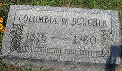 Columbia W Boucher