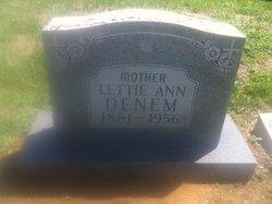 Lettie Ann <i>Peach</i> Denham