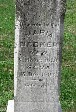 Maria <i>Uhl</i> Becker