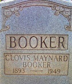 Clovis <i>Maynard</i> Booker