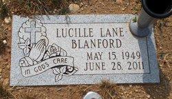 Lucille <i>Lane</i> Blanford