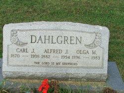 Alfred J Dahlgren