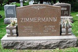 Anna Mary <i>Becker</i> Zimmermann