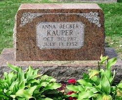 Anna <i>Becker</i> Kauper