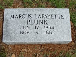 Marcus Lafayette Plunk