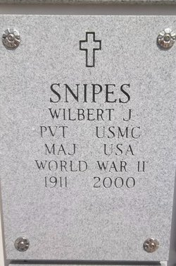 James Wilbert Bill Snipes