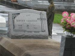 Bernice <i>Istre</i> Langston