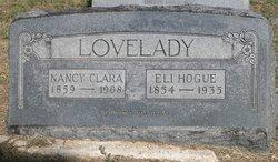 Nancy Clara <i>Wylie</i> Lovelady