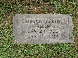 Johnnie Marie <i>Murphy</i> Allen
