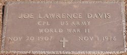 Joe Lawrence Davis