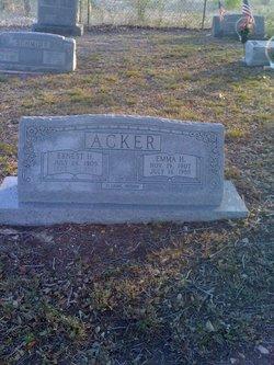 Emma H <i>Busse</i> Acker