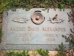 Amoret <i>Canady</i> Alexander