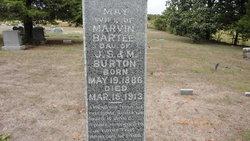 May <i>Burton</i> Bartee