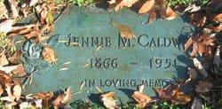 Jennie May <i>Cline</i> Caldwell