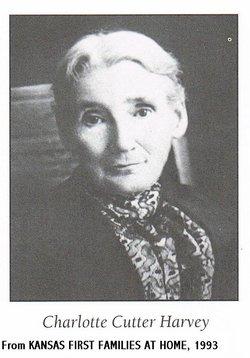 Charlotte Richardson <i>Cutter</i> Harvey