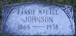 Fannie <i>McCall</i> Johnson