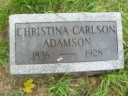 Christina <i>Carlson</i> Adamson