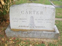 Blanche <i>Johnston</i> Carter