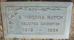 B. Virginia Hatch