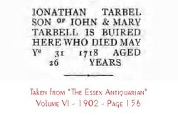 Jonathan Tarbell