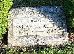 Sarah J Allen
