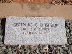 Gertrude <i>Culbert</i> Chisholm