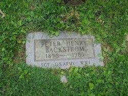 Peter Henry Backstrom