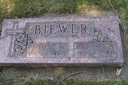 John W Biewer
