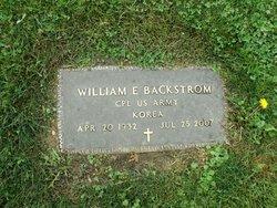 William Elmer Backstrom