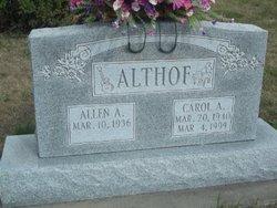 Carol A. Althof