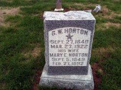 Corp George Washington Horton