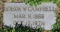 Benson Walker Campbell, Sr