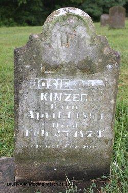 Josie A <i>L</i> Kinzer