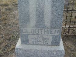 Juana Juanita <i>Valdez</i> Clouthier