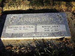 Wayne Aroet Anderson
