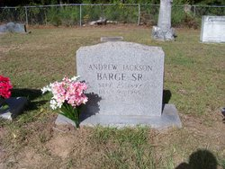 Andrew Jackson Barge, Sr