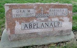 Barbara J. <i>Wayman</i> Abplanalp