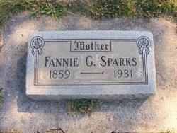 Fannie G <i>Surber</i> Sparks