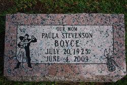 Paula <i>Stevenson</i> Boyce