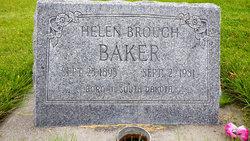 Helen <i>Brough</i> Baker