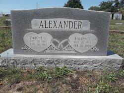 Dwight L Alexander