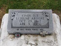 Cindy <i>LeJeune</i> Abshire