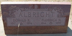 Donald Keith Albright