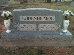 Edith Flora <i>Minks</i> Bodenheimer