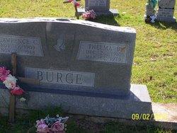 Mrs Thelma Bertel <i>Stockstill</i> Burge