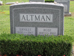 Rose <i>Baron</i> Altman