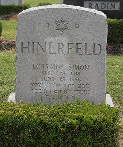Lorraine <i>Simon</i> Hinerfeld