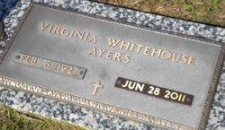 Virginia <i>Whitehouse</i> Ayers