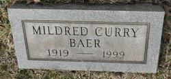Mildred <i>Curry</i> Baer